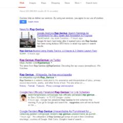 Google Penalises Rap Genius – Offsite SEO Gone Wrong