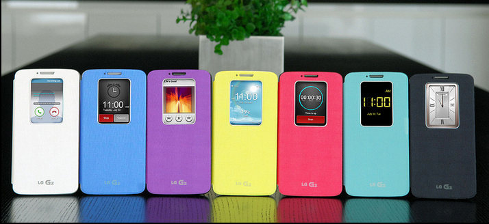 LG G2 - Different colours