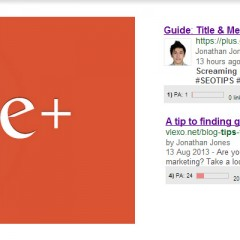 Google gives preference to Google+ (Duh!)