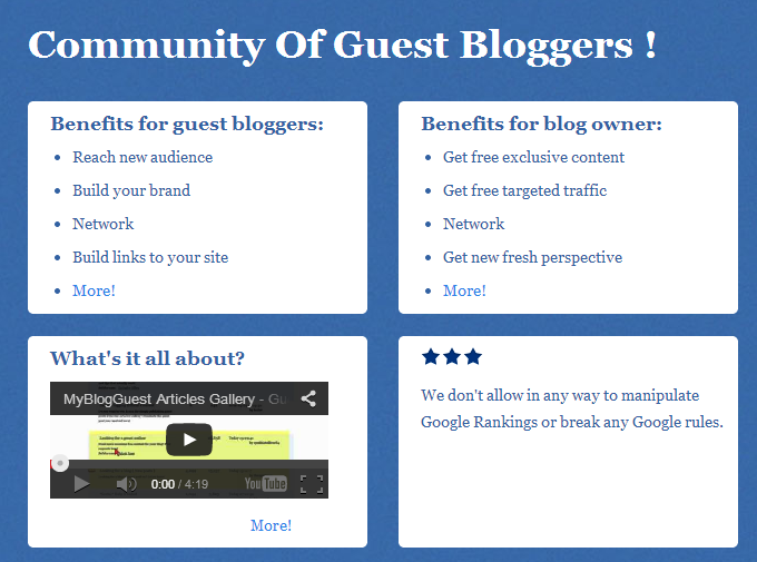 What is my blog guest