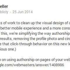 My Take on Google Removing Authorship Photos