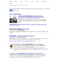 Google Penalises Rap Genius – Offsite SEO Gone Wrong